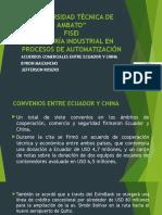 Acuerdos Comerciales EcuaACUERDOS COMERCIALES ECUADOR-CHINAdor-china