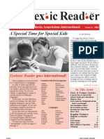 The Dyslexic Reader 2002 - Issue 29