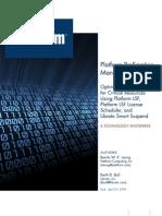 Platform Preemption Management LSF Scheduler WP