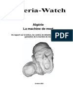 Machine Mort Rapport