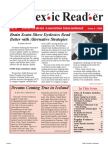 The Dyslexic Reader 2003 - Issue 33
