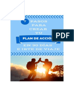 7 PASOS PARA CREAR TU PLAN DE ACCIÓN EN 30 DÍAS E IRTE DE VIAJE