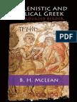 Hellenistic and Biblical Greek - A Graduated Reader