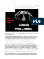 Citizen Watchdog Guide 12 21 15