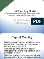 (8) Mundell Fleming Model