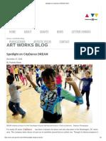 NEA Art Works Blog