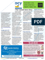 Pharmacy Daily for Tue 22 Dec 2015 - Call for sweet beverages levy, Farewell RGH E-Bulletin, Healthy Tasmania, Guild Update and much more