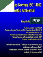 O Brasil e as Normas ISO 14.000 de Gestão Ambiental