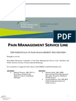 Spinal Facet Injection-SIR Pain Survival Guide