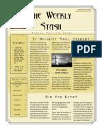 TheWeeklyStash Issue #3 April 3rd