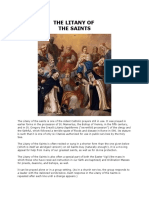 The Litany of Saints