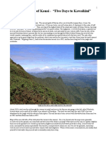 Waialeale Kawaikin 5 Page Trip Details