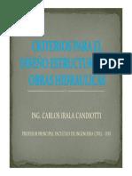 DISEÑO ESTRUCTURAL DE OBRAS HIDRAULICAS - FIC-UNI - 16-11-2015