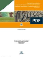 Tabulados y Resultados de La Sección Catastral Del Censo Nacional de Gobiernos Municipales y Delegacionales 2015