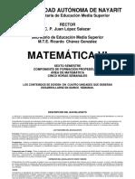 Programa de Matematica Vi