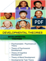 Developmental Theories (Growth & Development)