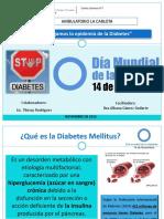 Día Mundial de La Diabetes 2015
