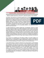 Declaración Pública JRME - El Fallo Del TC