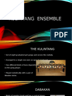 Kulintang Ensemble