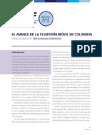 EL AVANCE DE LA TELEFONÍA MÓVIL EN COLOMBIA