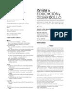 Revista de Educacion y Desarrollo