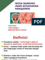 Diagnosa Banding Penurunan Kesadaran