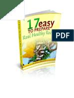 17 Easy to Prepare Healthy Recipes