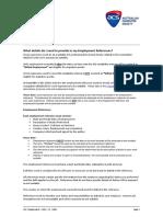 7 Employment FAQs
