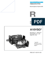 S06 Drilling Pump Rexroth-A10VO