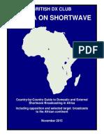 Africa on Shortwave - Nov 2015