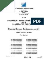Oxigen Gen Container CMM 35-21-14