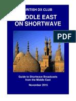 Middle East on Shortwave - Nov 2015