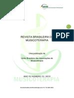 REVISTA BRASILEIRA DE MUSICOTERAPIA