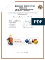 Seguridad Industrial Lenin VIllacis
