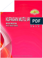 Kupasan Jawapan UPSR 2014
