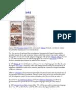 Language History