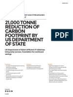 21,000 Tonne Reduction of Carbon Footprint By Us Department Of State-1E