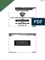 Clase 06 Procesamiento y Análisis de Datos