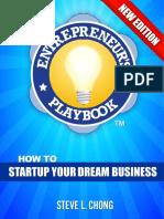 The Entrepreneurs Playbook