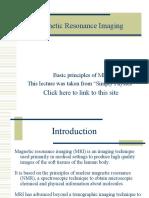 Megnetic resonance imaging details
