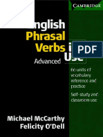 English Phrasal Verbs Indice