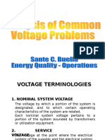 Analysis of Voltage Problems White