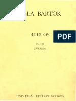 Bartok Violin Duets Part I-2