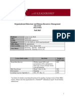 MBA 5330 Course Outline Fall 2015 V2