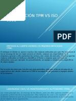 Comparación TPM vs ISO 9001
