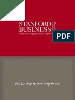 Stanford GSB orientation IITM
