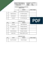 Prosedur Pemantauan & Pengukuran Lingkungan & Kinerja k3
