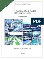 Prezentare Plan de Mobilitate Urbana Medias