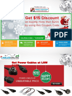 Cables Online  CHRISTMAS and NEW YEAR 2016  Special offers