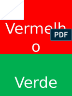 As cores em portugues